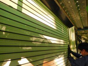 窓シャッター修理
